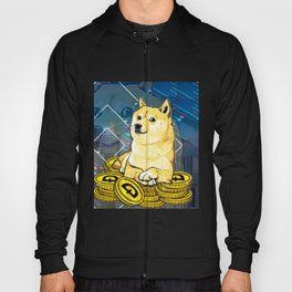 Dogecoin Dog Hoody