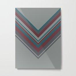 Autumn Colors #1 #stripes #decor #art #society6 Metal Print