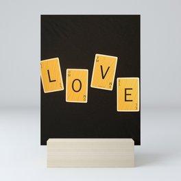 L-O-V-E Mini Art Print