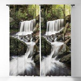 Appalachian Waterfall X - Ricketts Glen Adventure Blackout Curtain