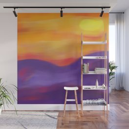 Sunset Landscape Wall Mural