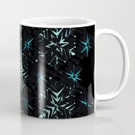 3D Abstract Fractal Element Pattern Coffee Mug