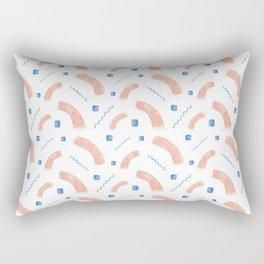Greek Abstract Pattern Rectangular Pillow