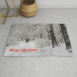 Christmas In The Park Rug