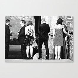 Unterredung Canvas Print