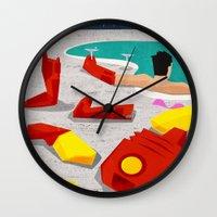 mod Wall Clocks featuring Iron-Mod by modHero