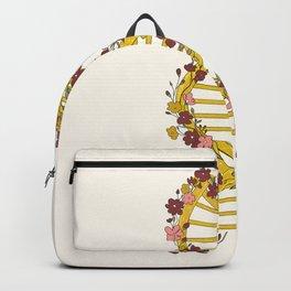 Floral DNA Backpack