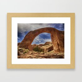 Rainbow Bridge National Monument Framed Art Print