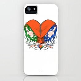 Clementine's Heart iPhone Case