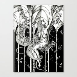 Butterfly hall Canvas Print