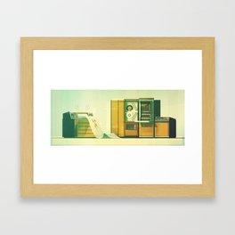 Computer No.1 Framed Art Print