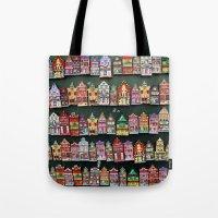 amsterdam Tote Bags featuring Amsterdam by Joke Vermeer