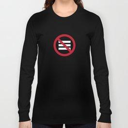 No Hamburger bar Long Sleeve T-shirt