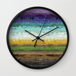Sunday Brunch Wall Clock