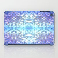 frozen iPad Cases featuring Frozen Stars Periwinkle Lavender Blue by 2sweet4words Designs