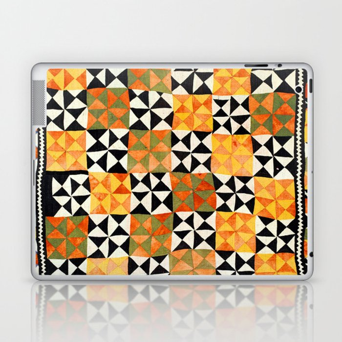 North Afghanistan Cotton Quilt Print Laptop & iPad Skin