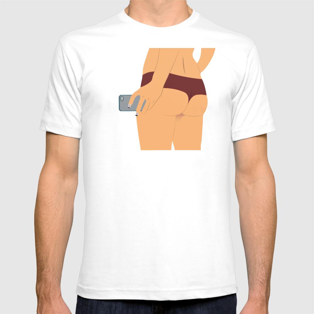 Red Panties Tee Shirt by Ateliertoki TSR7766406