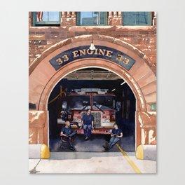Engine 33 Canvas Print