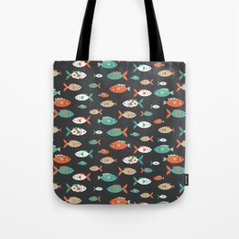 Retro Fish Tote Bag