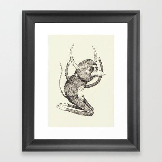 'Freak' Framed Art Print