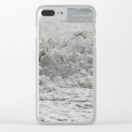 Sea Salted Clear iPhone Case
