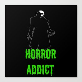 Horror Addict Canvas Print