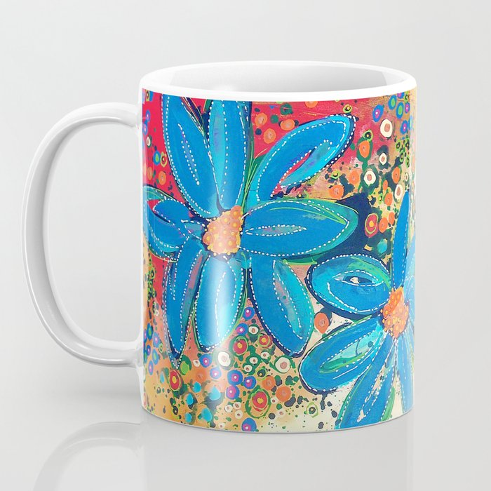 Flower Power Coffee Mug