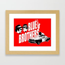 The blues brothers 2 Framed Art Print