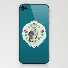 Piccola Damigella Gufo iPhone & iPod Skin