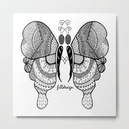 Butterfly's Love Metal Print