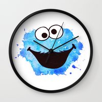 cookie Wall Clocks featuring Cookie by Cookstar