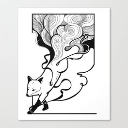 Fox Dream Canvas Print