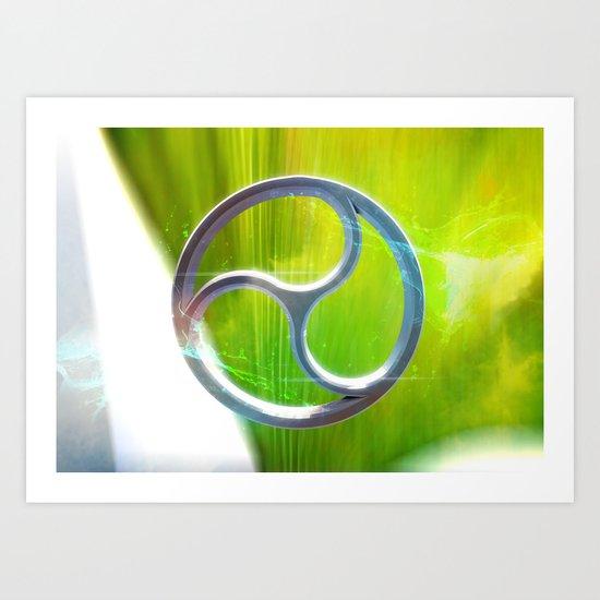 Sacred Geometry - Trinity 03 Art Print