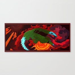 Fire Proof Canvas Print