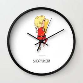 Shoryuken! Wall Clock