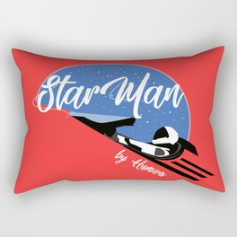StarMan by Humans Rectangular Pillow