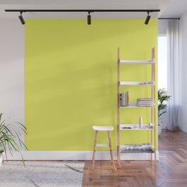 Pastel Limelight Yellow 2018 Fall Winter Color Trends Wall Mural