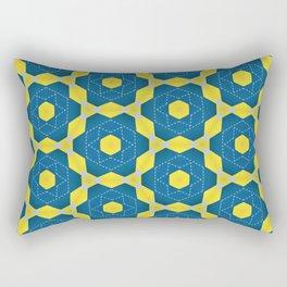 Keyline cubes Rectangular Pillow
