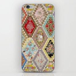 13-Panel Hexagon Quilt iPhone Skin