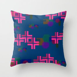 """Shapely"" Throw Pillow"