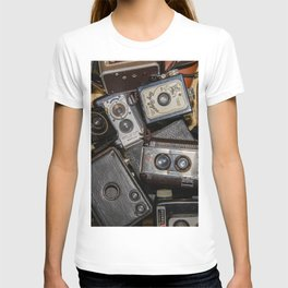 A Mess Of Old Cameras 2 T-shirt