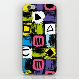 Fashion Patterns Shell-Shocked iPhone Skin