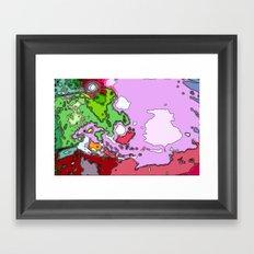 Under the Microscope  Framed Art Print