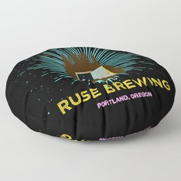 RUSE BREWING - THOUGHT FREQUENCY Floor Pillow