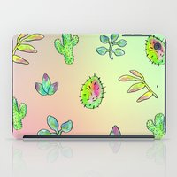 cacti iPad Cases featuring Cacti  by Brettisagirl