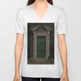 Green Door No Number Unisex V-Neck