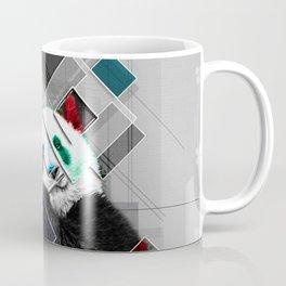 Cute colorful collage Panda Coffee Mug