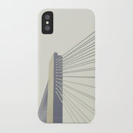 cable-stayed bridge iPhone Case