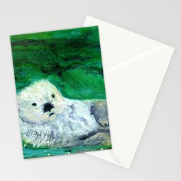 Otter Delights Stationery Cards