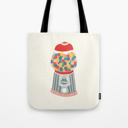 Gum Ball Machine Tote Bag